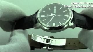 Мужские наручные швейцарские часы Tissot T065.430.16.051.00(, 2012-07-18T08:50:31.000Z)