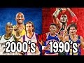 Download What If The 1990s TOP NBA STARS Played The 2000s Best Players?