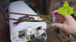 Жөндеу жылытқышының. Чиним өздері, егер бойлер потек / Boiler repair. DIY