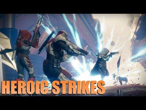 destiny matchmaking heroic strike
