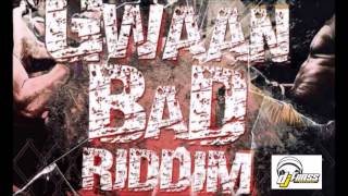 Gwaan Bad Riddim mix  [JUNE 2014]  (DjFrass Records)  mix by djeasy
