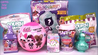 Hairdorables DOLLS LOL Surprise Smooshy Mushy Squishy Blind Bags Toys Opening Mash Up