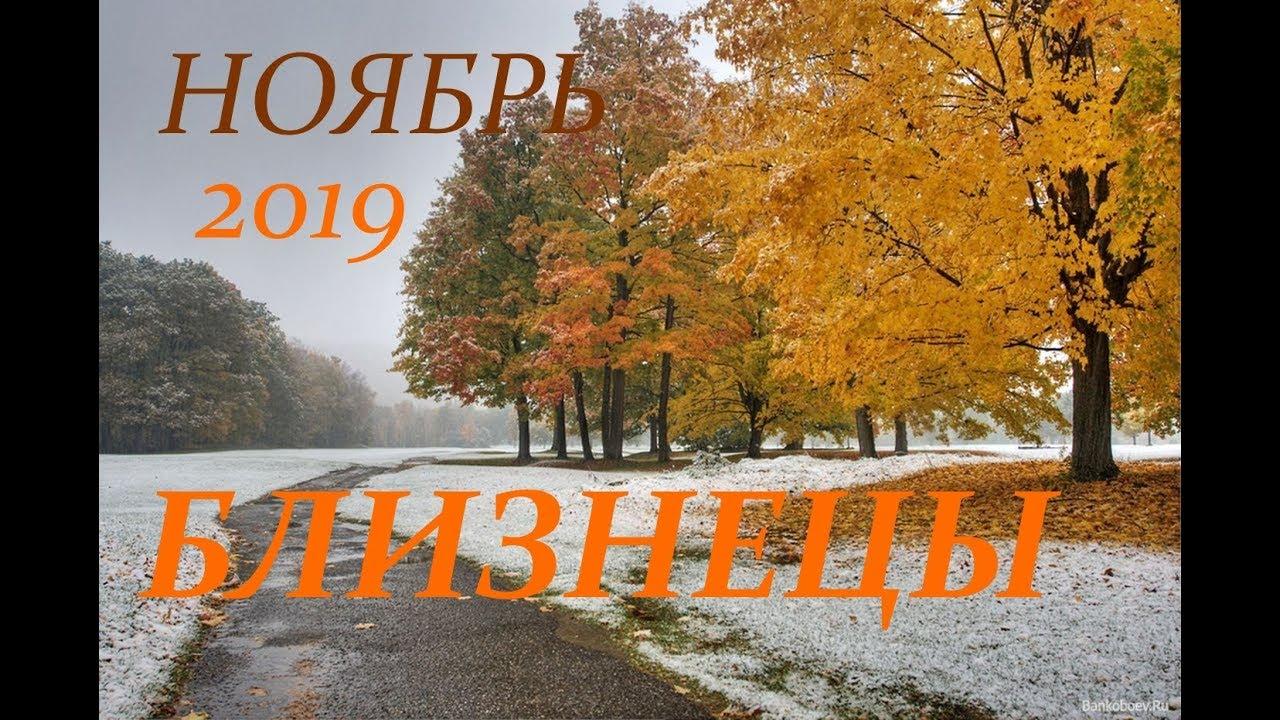 БЛИЗНЕЦЫ. САМЫЙ ПОДРОБНЫЙ ПРОГНОЗ на НОЯБРЬ 2019 г.