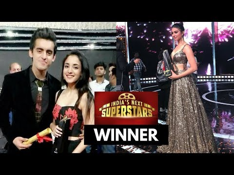 Indias Next Superstar Winner Shruti Sharma, Aman Gandotra, Natasha Bharadwaj