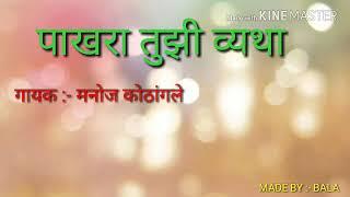 Pakhara tuzi vyatha natak song Zadipatti rangabhumi wadsa