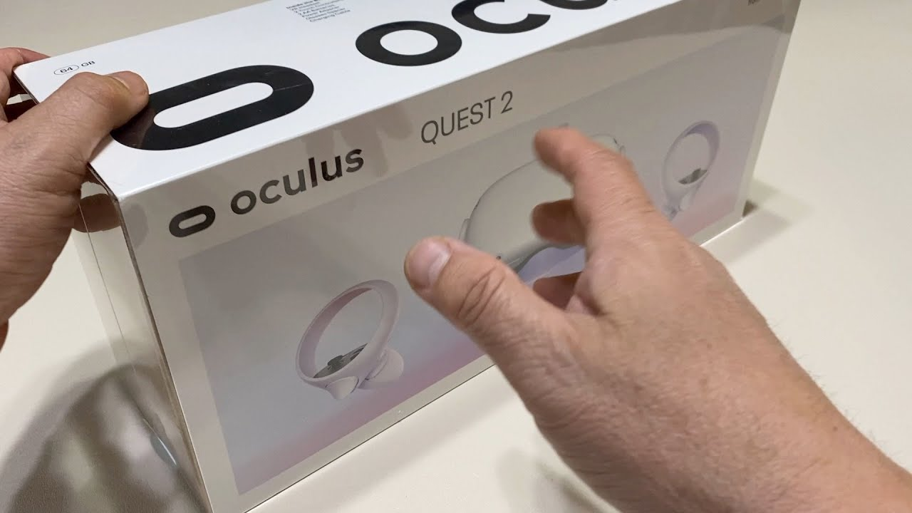 What's in the Box? - Oculus Quest 2 — Advanced All In One Virtual Reality Headset — 64 GB