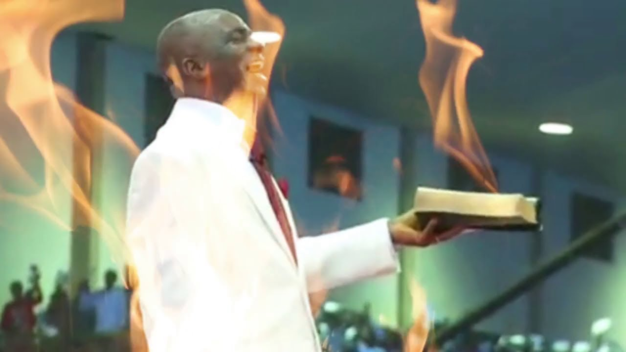 Download Speaking in Tongue Fire Holy Spirit anointing - Bishop Oyedepo Compilation 1