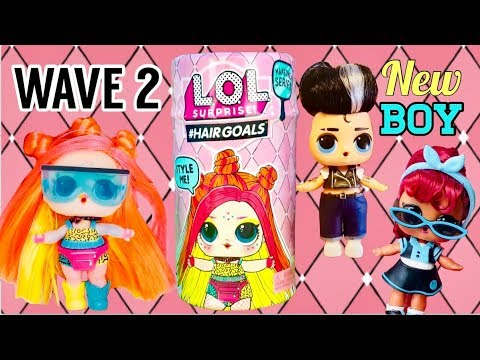 Toy LOL Surprise Dolls #Hairgoals Wave 2 Twang Makeover Series 5 Real L.O.L
