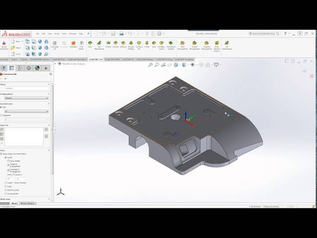 SolidCAM 2016 – Chain Geometry Interface and Selection