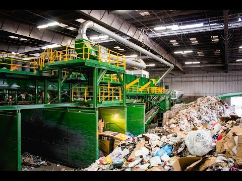 GreenWaste Material Recovery Facility (MRF Tour)