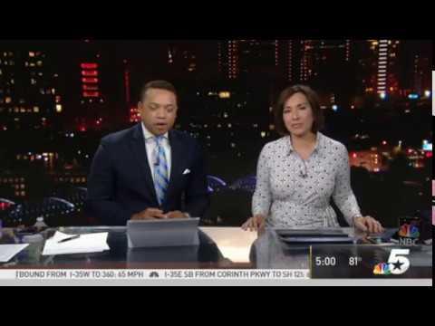 KXAS NBC 5 News Today open (7-26-18)