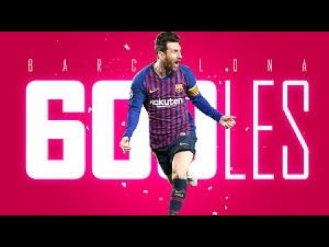 Messi: 600 goles en Barcelona