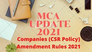 MCA Update 2021 - Companies (C…