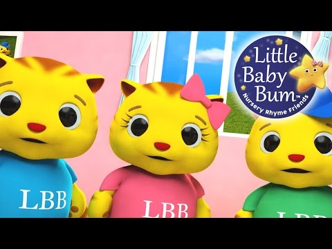 Three Little Kittens | Nursery Rhymes | from LittleBabyBum!