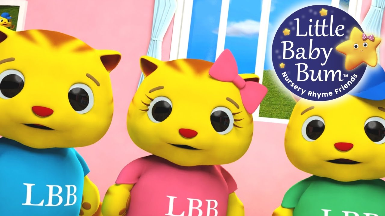 Little Baby Bum Three Little Kittens Nursery Rhymes For Babies Videos For Kids