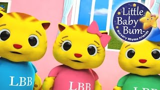Three Little Kittens | 3D Nursery Rhyme For Children | 3D Animation - HD Version from LittleBabyBum