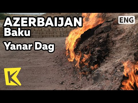 【K】Azerbaijan Travel-Baku[아제르바이잔 여행-바쿠]불타는 산, 야나르다흐/Yanar Dag Fire Mountain/Gas
