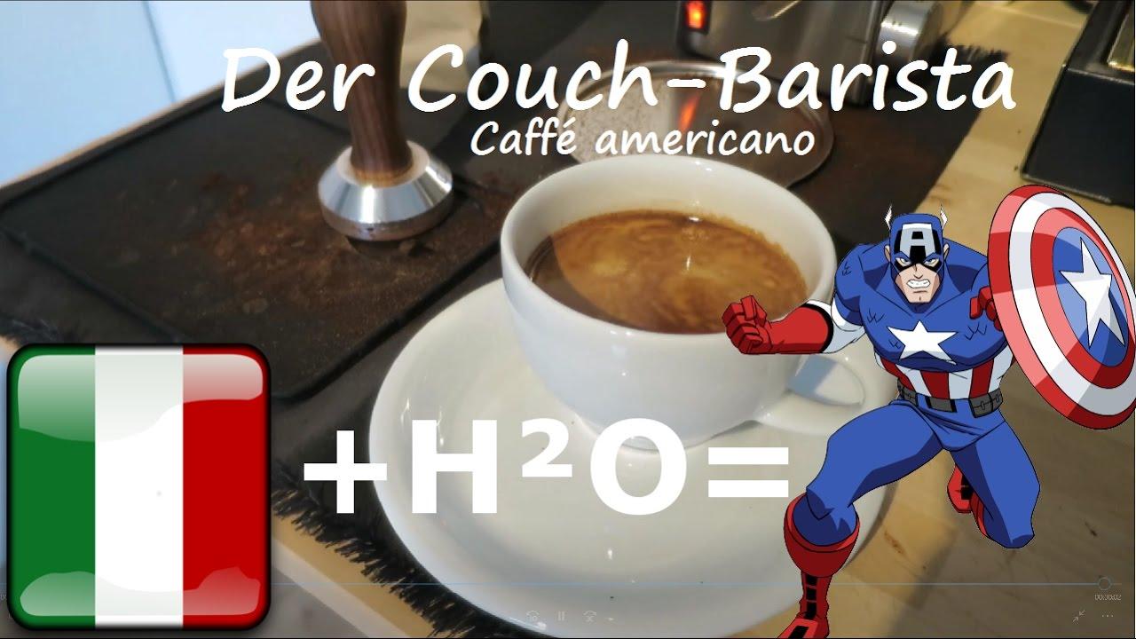Espresso auf Steroiden: Wie macht man Caffé Americano ...