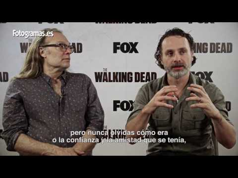 'The Walking Dead': Entrevista a Andrew Lincoln y Greg Nicotero
