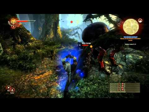 Azoic's Game-Along | The Witcher 2 - The Nekker/Endrega Contract (Part 017)