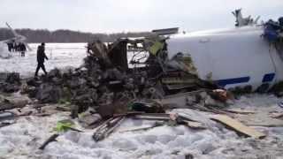 Крушение самолета в Тюмени 2.04.2012