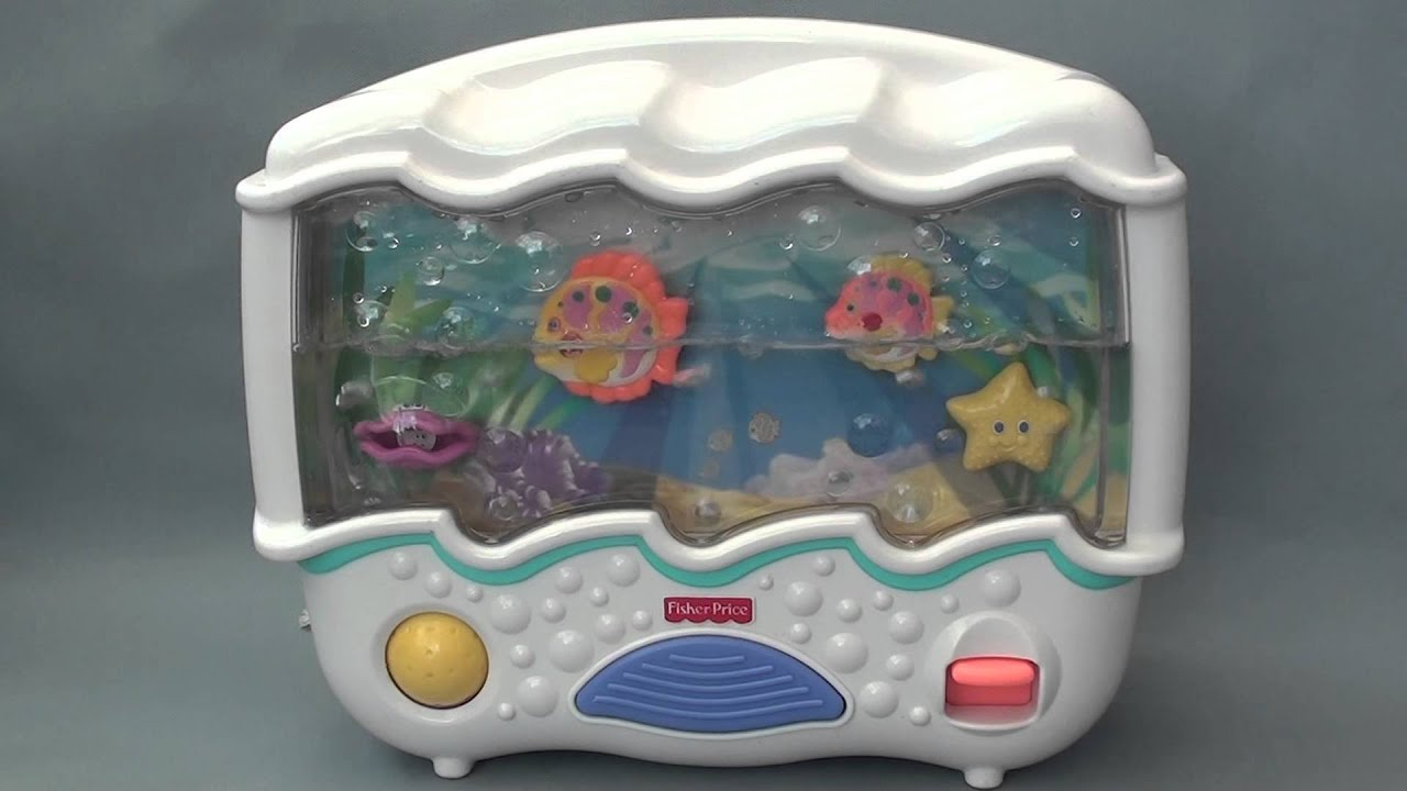 Fisher price ocean wonders aquarium youtube for Fisher price fish bowl