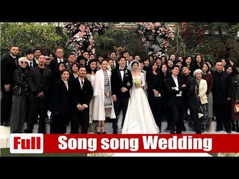 Full Song Song wedding  Star gathering at the wedding , Cha Tae Hyun, Kim Soo An, Sun Soon Ki,