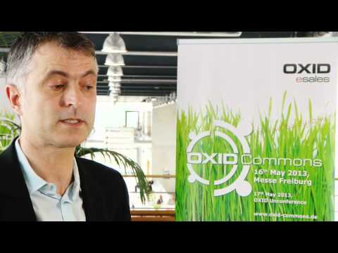 OXID Commons 2013 - Interview Mit Roland Fesenmayr (CEO, OXID ESales AG)
