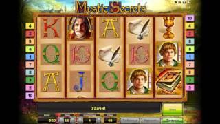 видео Игровой автомат Mystic Secrets (Мистические секреты, Монстер Лаб) играть бесплатно в интернет казино Вулкан