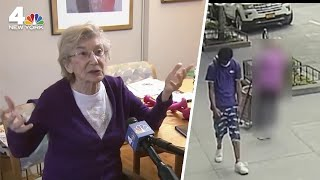 'What Good Does it Do?': 92-Year-Old Speaks Out on Random Attack | NBC New York