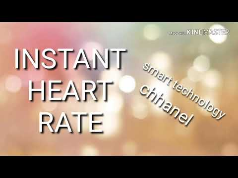 About INSTANT HEART RATE App