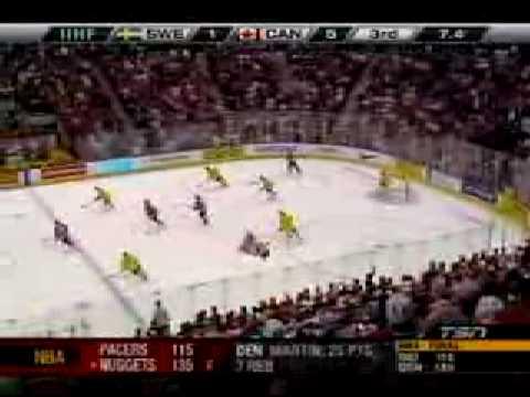 Team Canada wins gold in 2009 World Juniors v Sweden TSN (Jan 06) 002