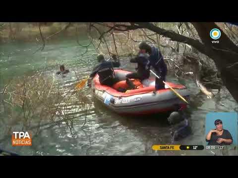 Comienza la autopsia al cuerpo hallado en río Chubut