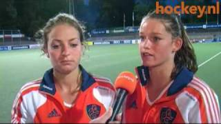 EK hockey.nl TV - Jubilaris Eva de Goede: