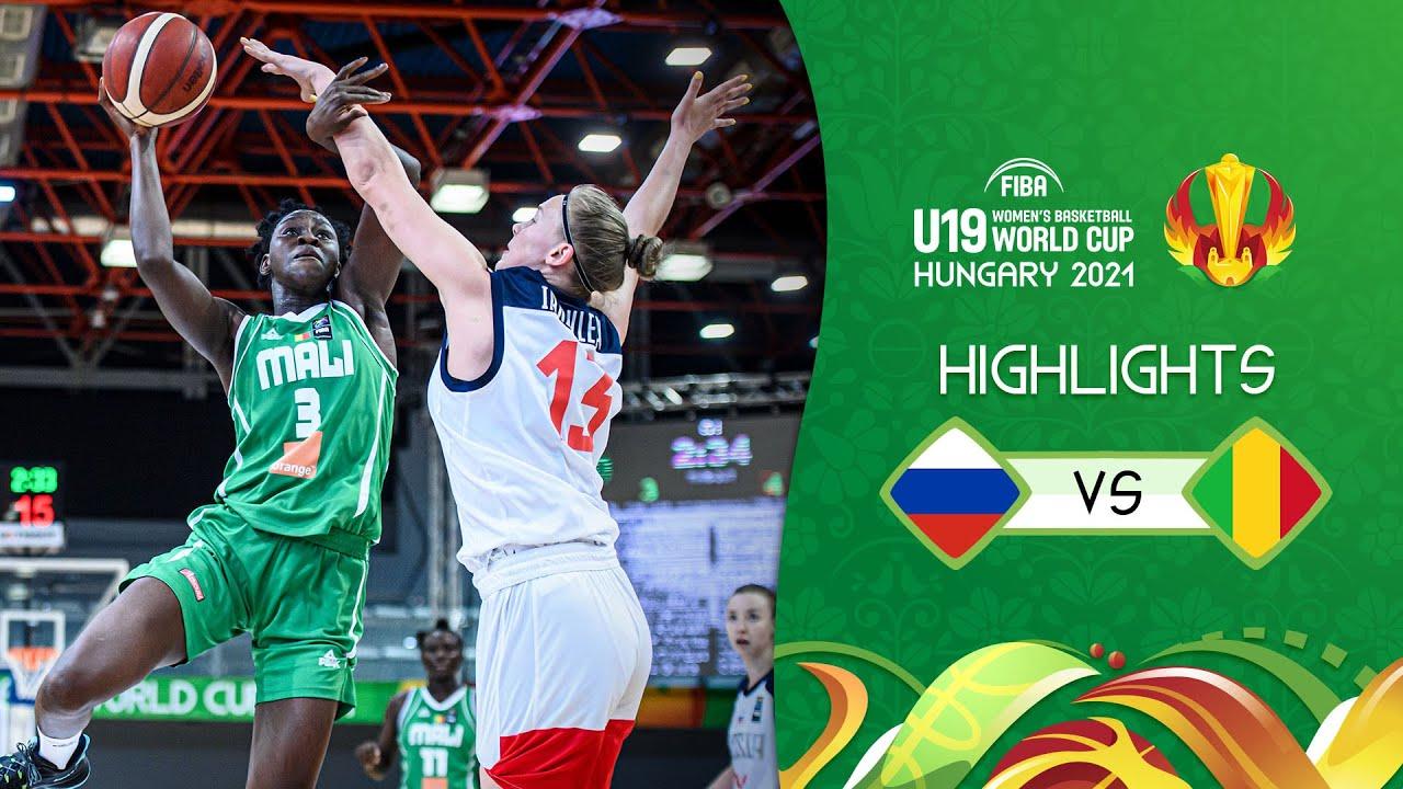 Russia vs. Mali | Full Highlights | Quarter-Final - FIBA U19 Women's Basketball World Cup 2021