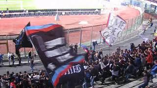 Catania - Catanzaro 1-0; La Curva Sud, uno spettacolo