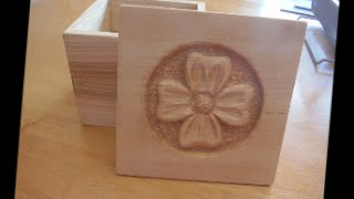 Making An Ash Box With A Relief Carved Basswood Lid