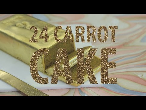 This 24 Carrot Gold Cake Is What To Make Your Most High-Maintenance Friend | HuffPost Life