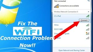 [solved]!! Wifi connection problem on Dell Laptop.(WINDOWS 10)