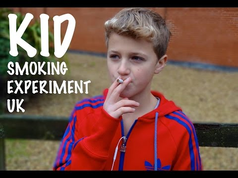KID SMOKING SOCIAL EXPERIMENT UK from YouTube · Duration:  2 minutes 50 seconds
