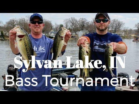 2019 Sylvan Lake Indiana Bass Fishing Tournament Prespawn