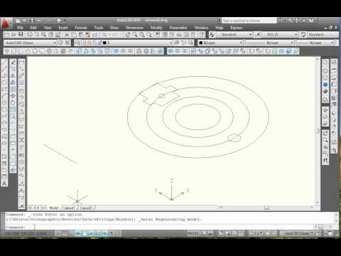 Proiectare 3D in AutoCAD: corp universal / AutoCAD 3D Design