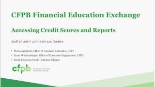 Finex Webinars: Credit Scores and Reports