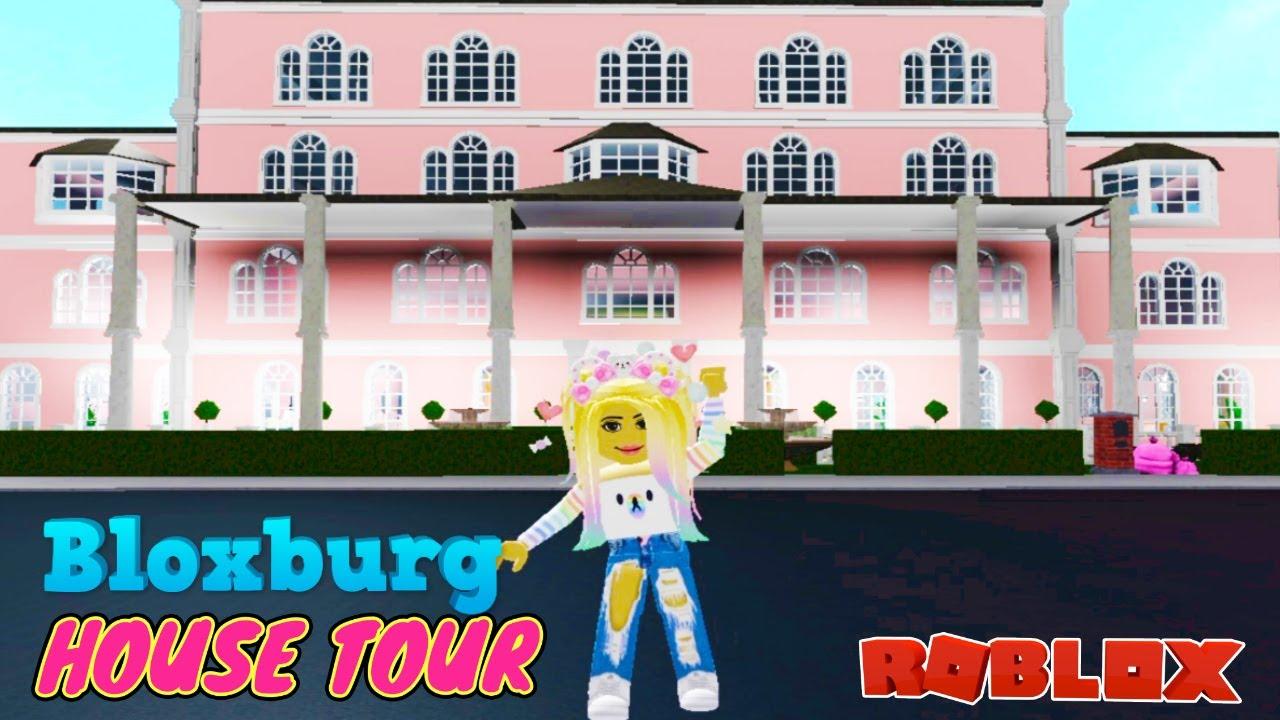 Roblox Bloxburg Mansion Tour Day Time Routine