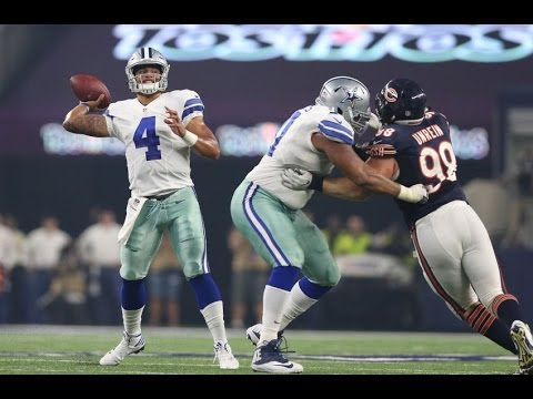Dak Prescott Throws First Passing Touchdown vs Bears (NFL SNF Week 3 - 2016) | NFL Highlights HD