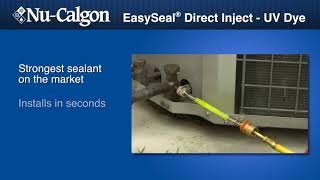 Nu-Calgon ESDI-UV Dye Leak Sealant Demo