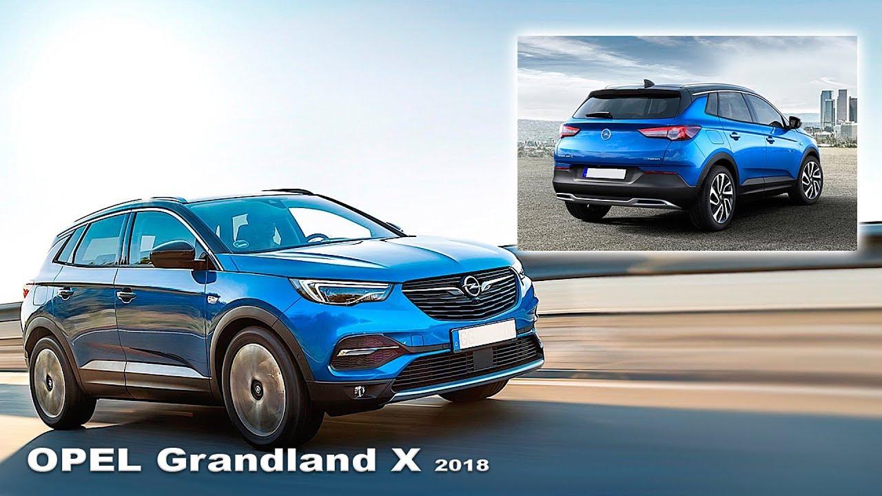 Opel grandland x 2018 interior and exterior new opel for Interior opel grandland x