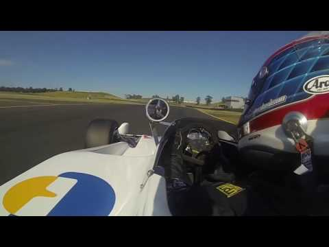 Raw On-Board Qualifying in a Lola T332 Formula 5000