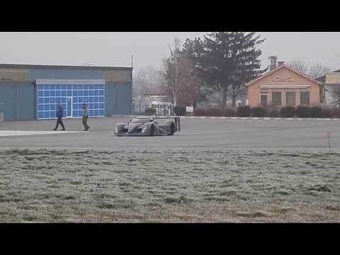 Winter Test Aeromaster LMP With V8 4.2 Engine