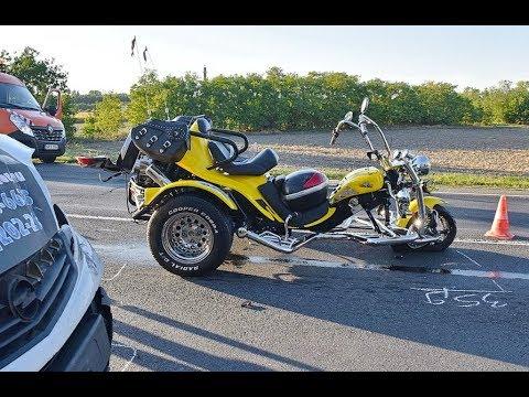 Két trike-ot tört össze egy Opel Győr közelében, a 85-ös főúton